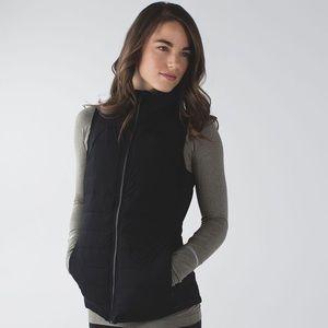 Lululemon Athetica Fluffed Up Black Vest